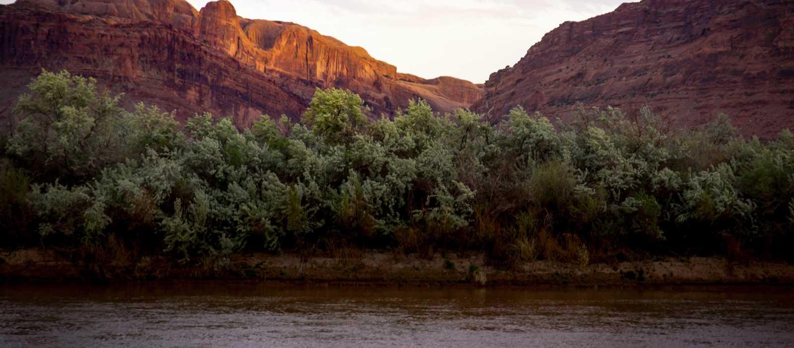 Tolle Momentaufnahmen während einer Sunset Jet Boat Tour auf dem Colorado River in Moab