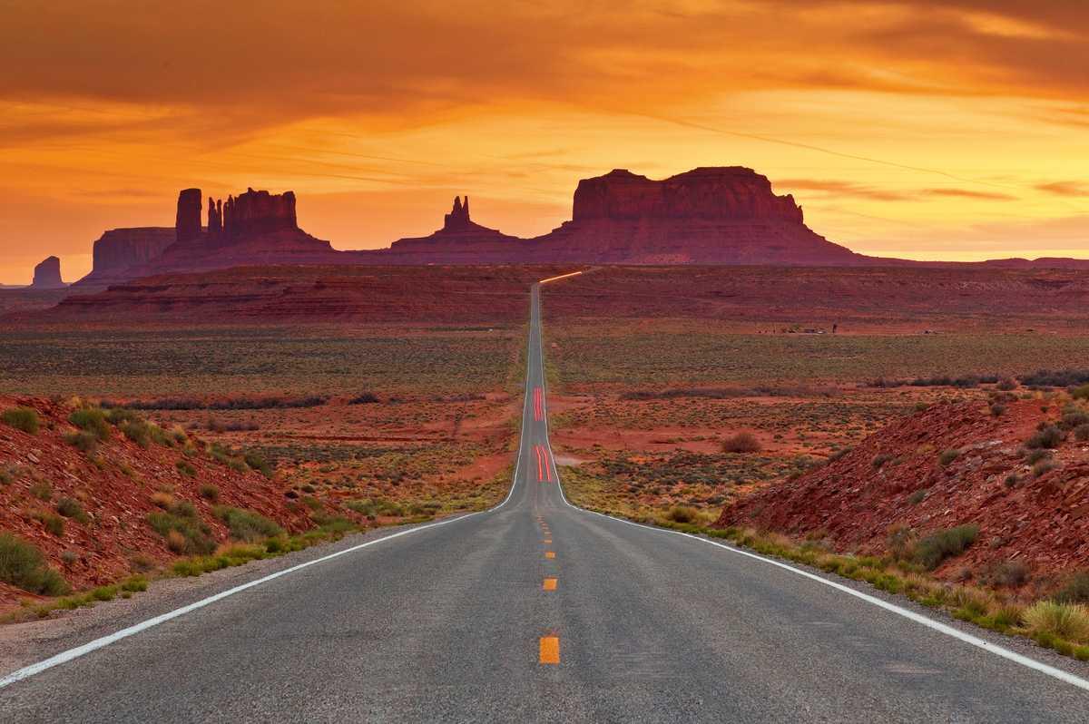 Eingang zum Monument Valley Navajo Tribal Park