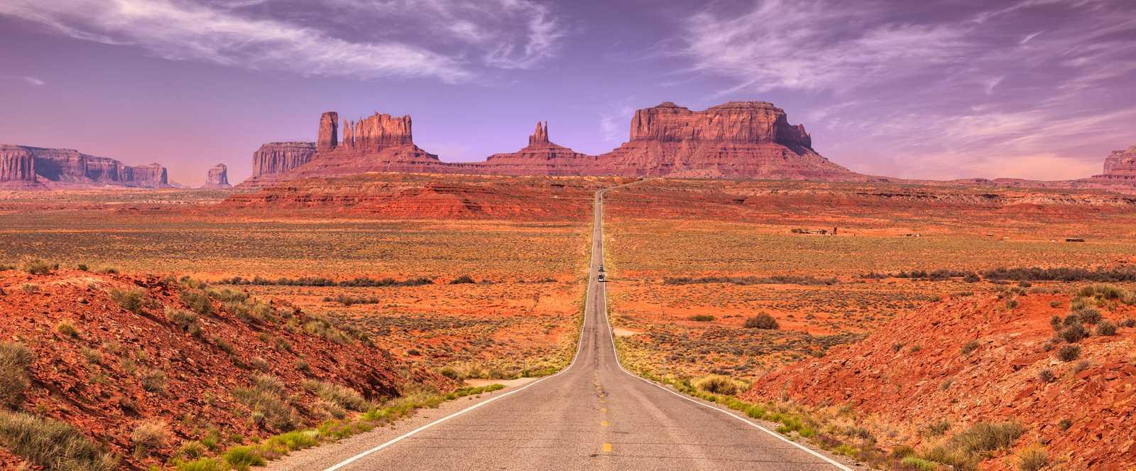 Das Monument Valley in Utah
