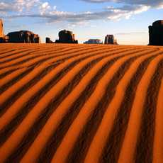 Monument Vallley Dunes