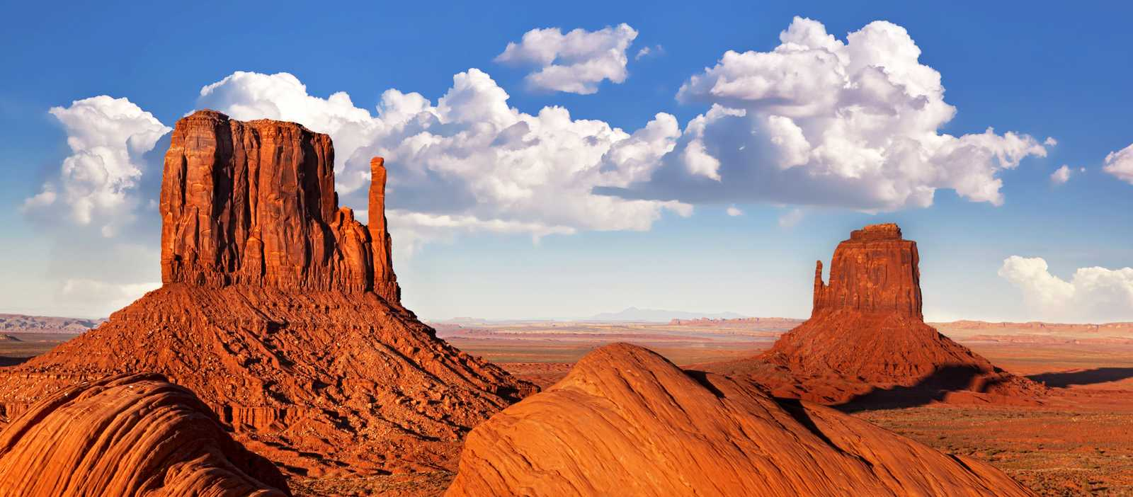 Die einzigartige Landschaft des Monument Valley