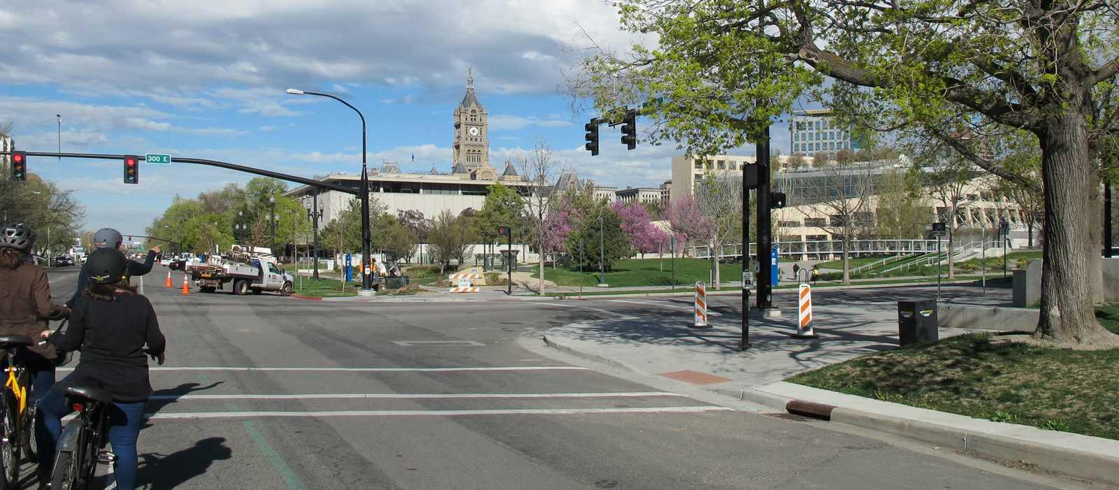 Fahrradtour durch Salt Lake City