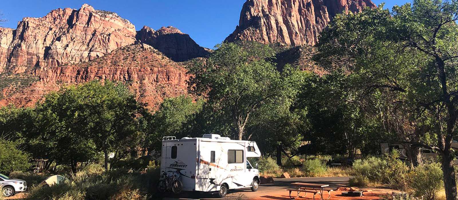 Watchman Campground im Zion National Park