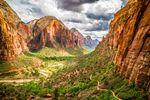 Der Zion Nationalpark, Utah