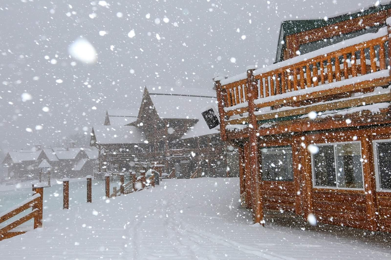 Die ersten Schneeflocken in Banff