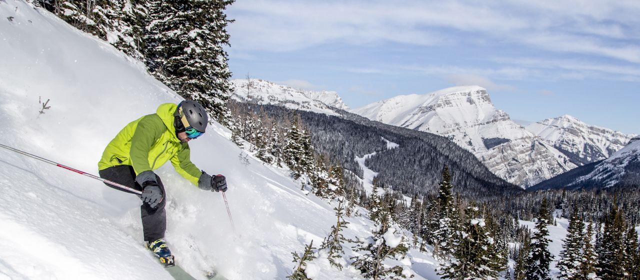 Ski School in Sunshine Village