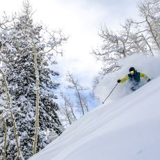 Skifahrer in Aspen