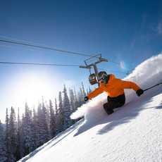 Skifahren im Aspen Snowmass