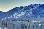 Verschneites Aspen