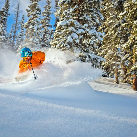 Snowmass Mountain: Opening Day