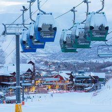 Skilift von Snowmass, Aspen, Colorado