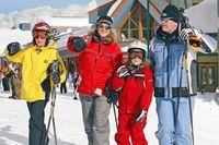 Familienurlaub in Big White
