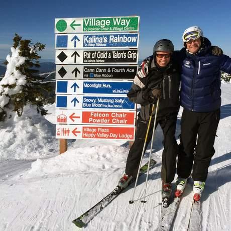 Impression Big White Ski Resort, British Columbia