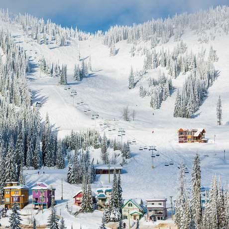Impressionen des Silver Star Mountain Resorts