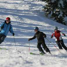 Family Skiing in Silver Star