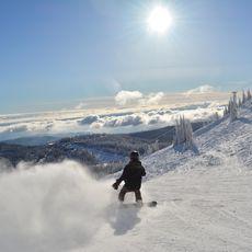Das Silver Star Skiresort Winterparadies