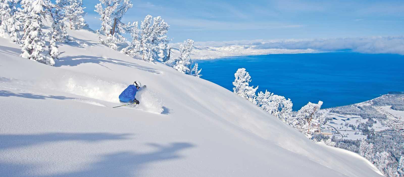 Deep Snow in Heavenly