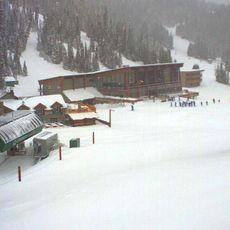 Neuschnee im Sunshine Village Banff