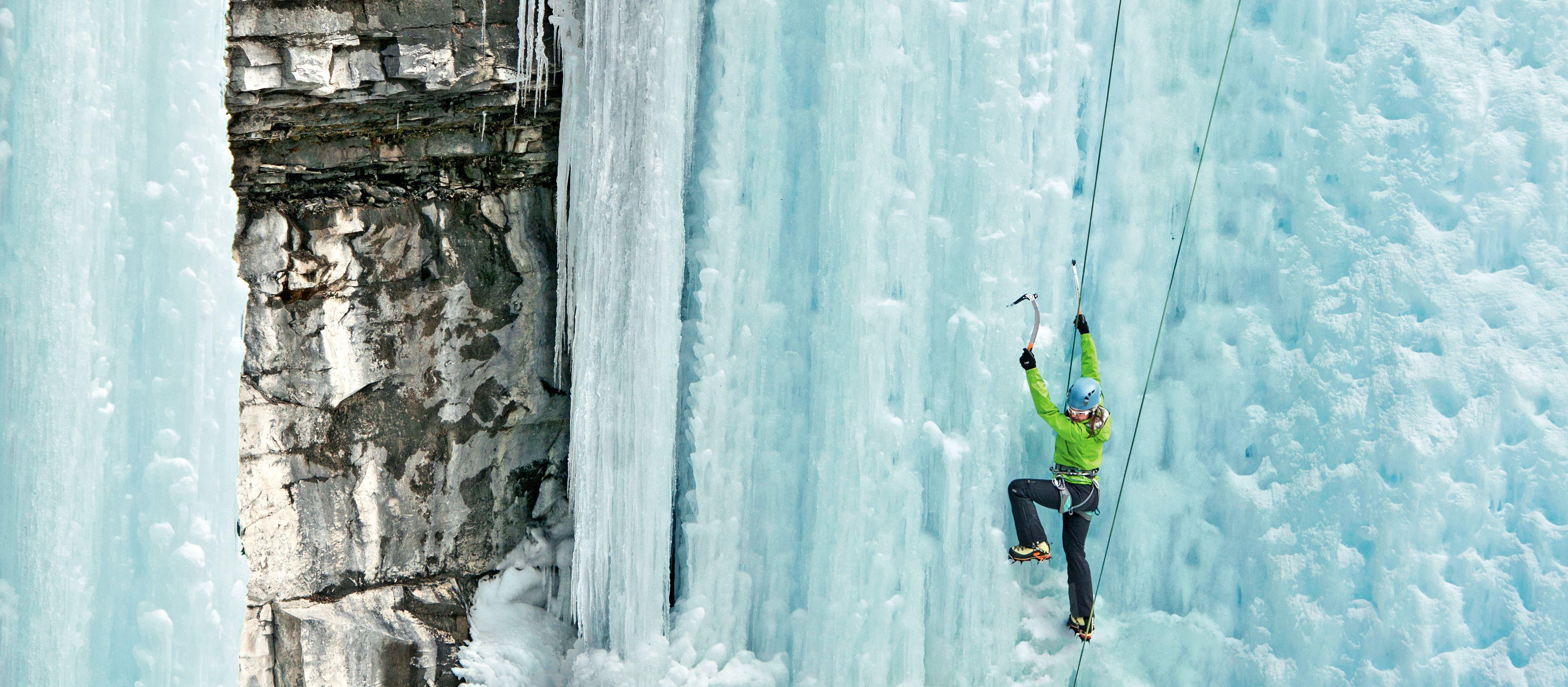 Eisklettern in Banff