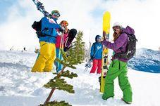 Skifahren im Banff National Park