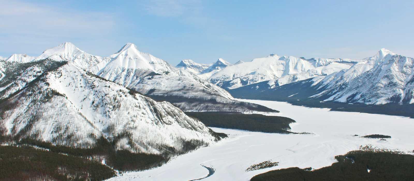 Ausblick auf Banff