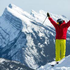 Sunshine Skiing, Banff, Lake Louise