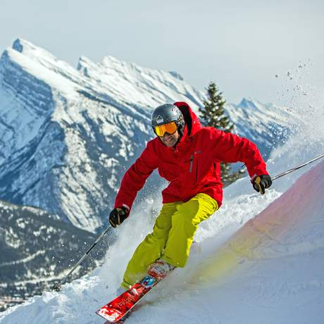 Spass am Mount Norquay