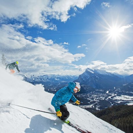 Ski-Paradies Mount Norquay