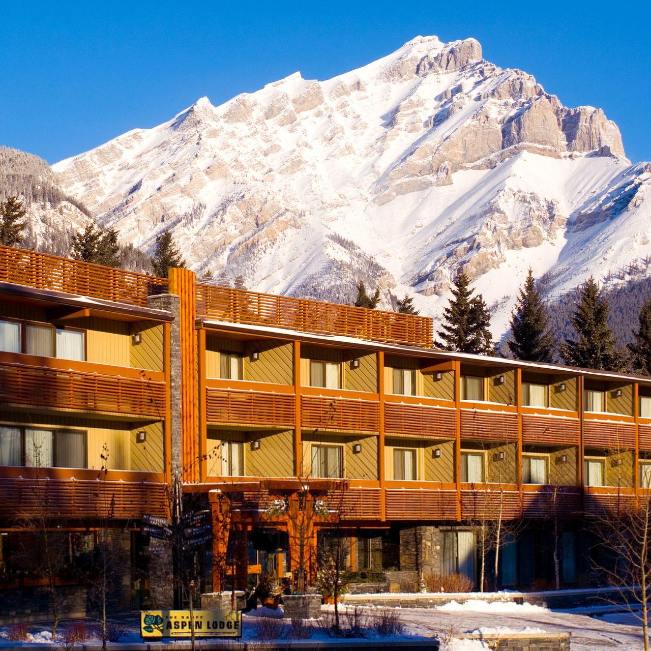 Hotel Alberta Banff Aspen Lodge Canusa