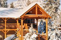 Echte Blockhaus-Lodge ****
