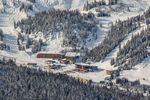 Snowboarder in Banff