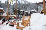 Snowboard-Spaß in Banff