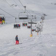 Skilift im Sunshine Village