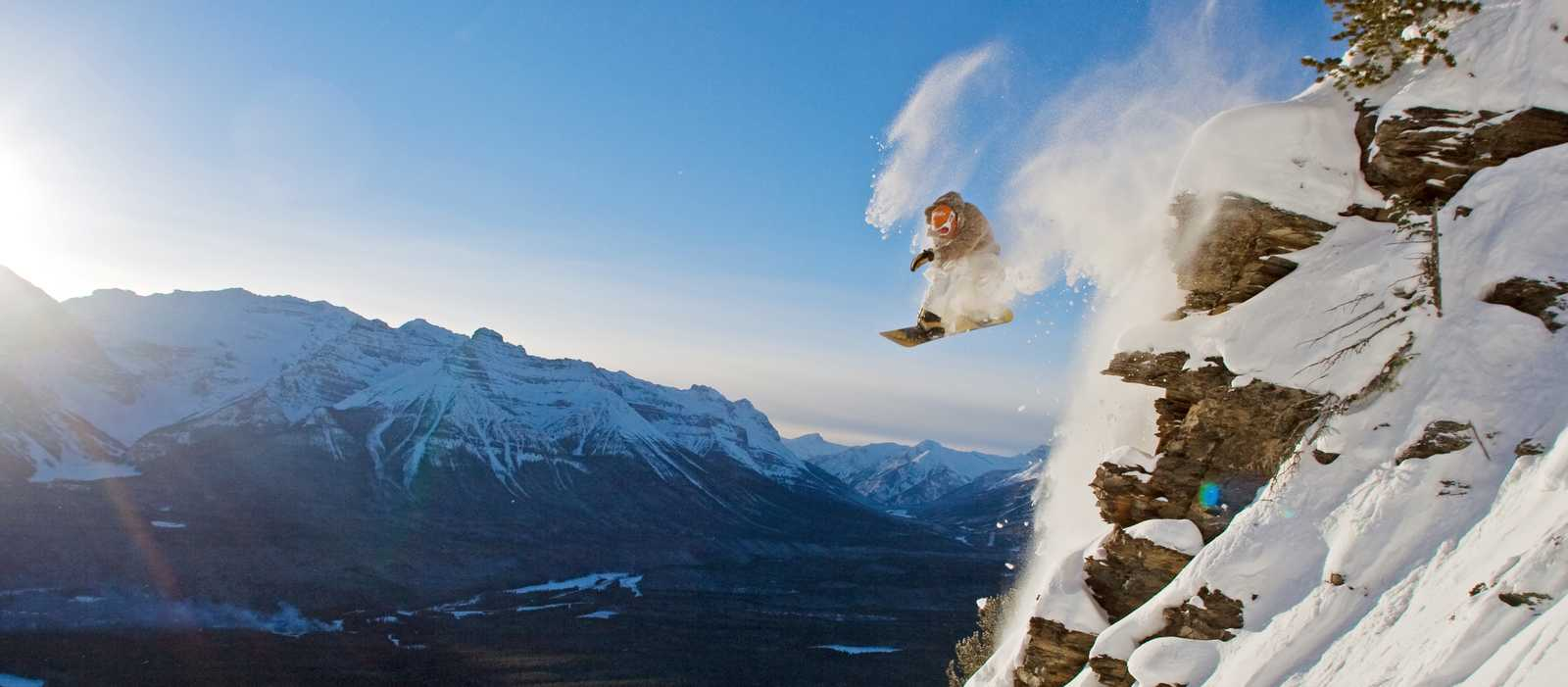 Extrem-Snowboarding