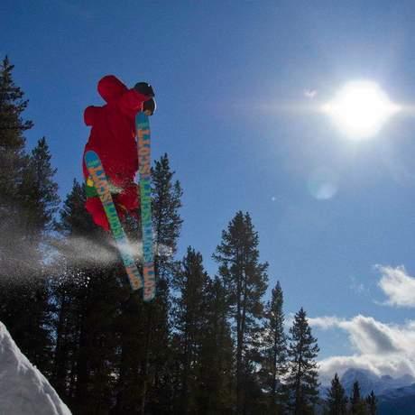 Skifahren Lake Louise