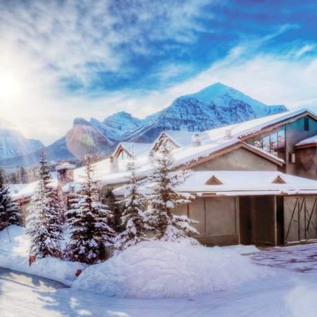 Impressionen Lake Louise Inn