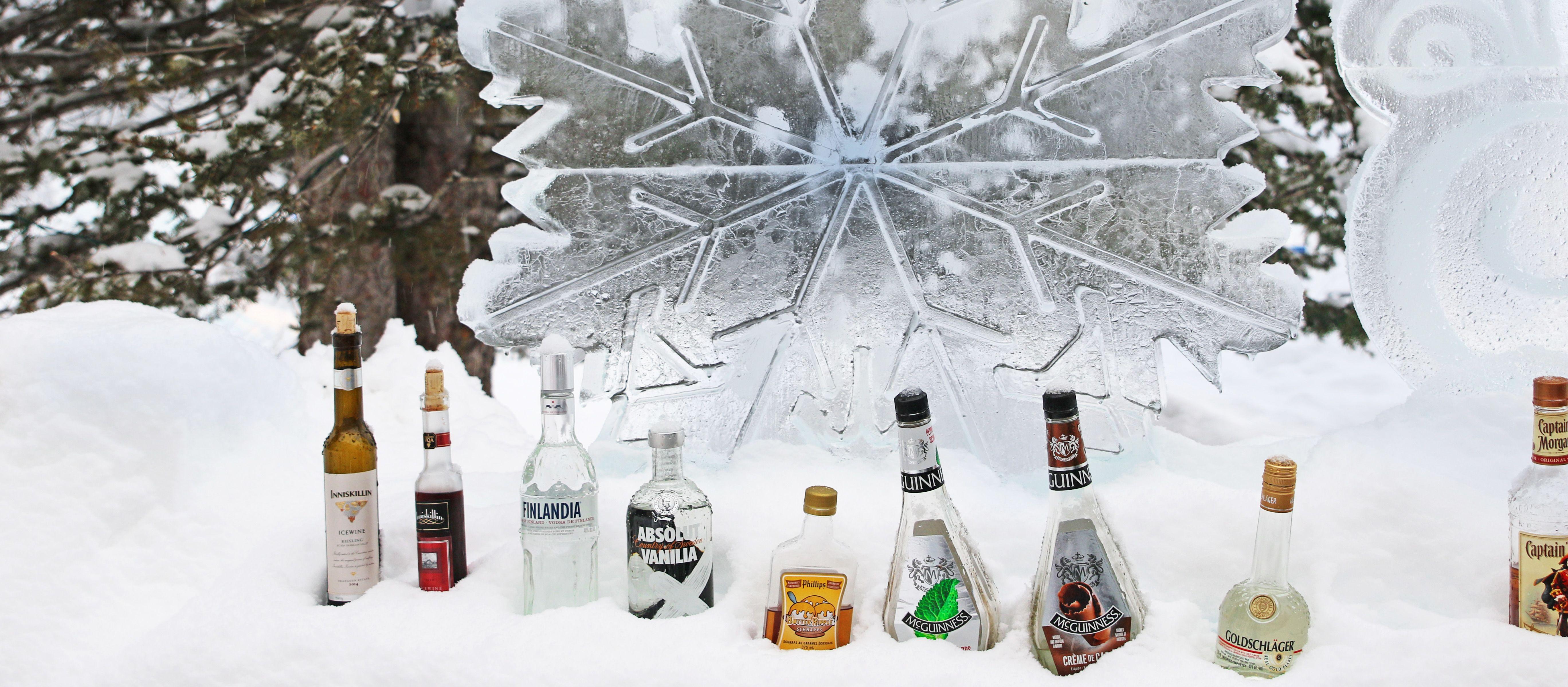 Ice Bar am Lake Louise