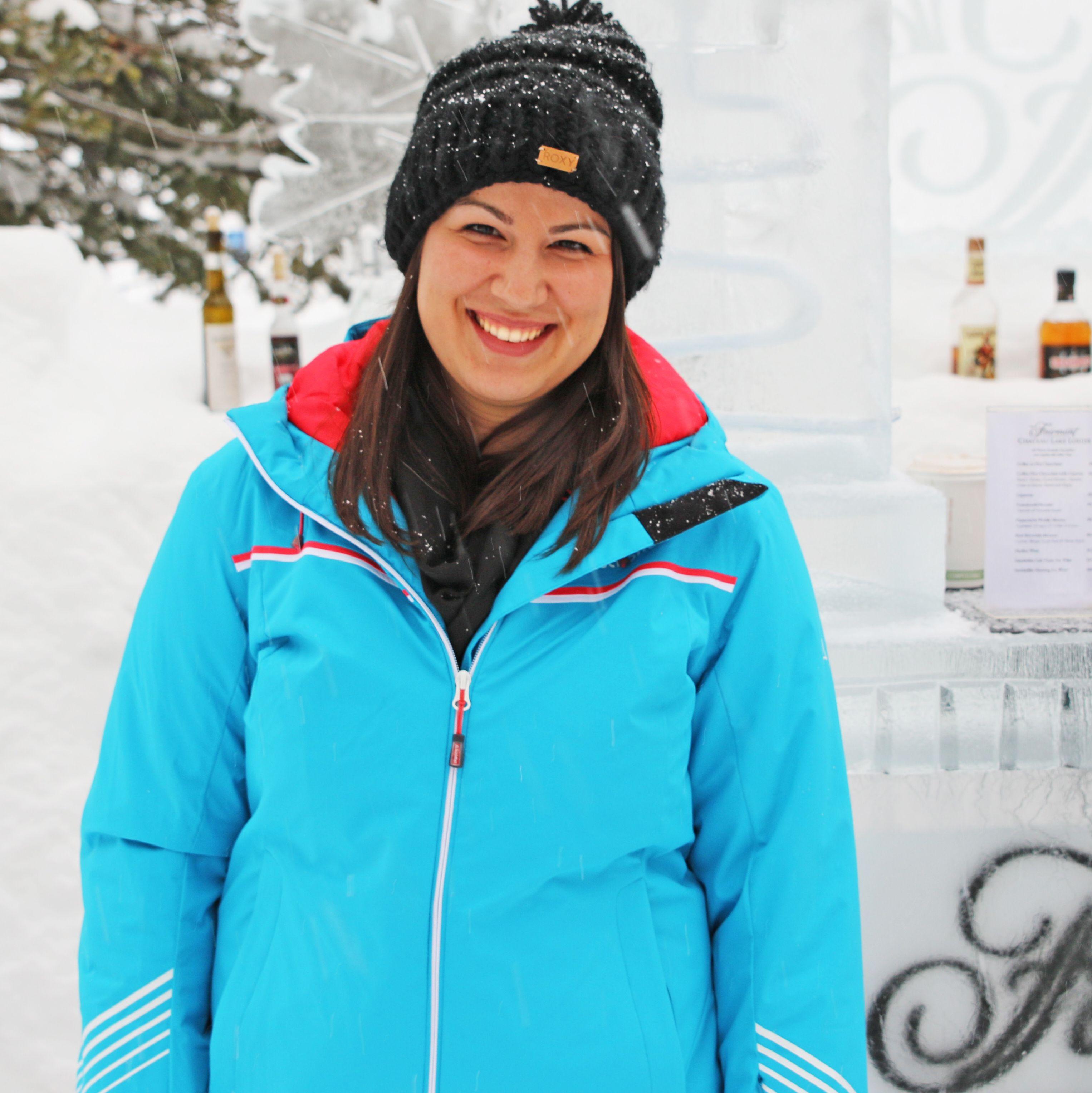 Ice Bar im Fairmont Lake Louise, Alberta
