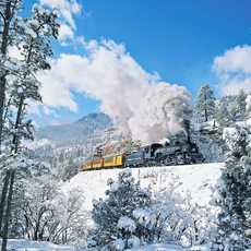 Durango and Silverton Railroad unterwegs