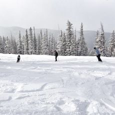 Skifahrer im Keystone Resort