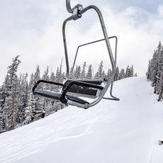 Sessel des Skilifts im Keystone Resort