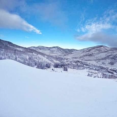 Landschaft des Vail Ski Resorts