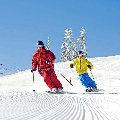 Groomer; Male; Ski; Winter