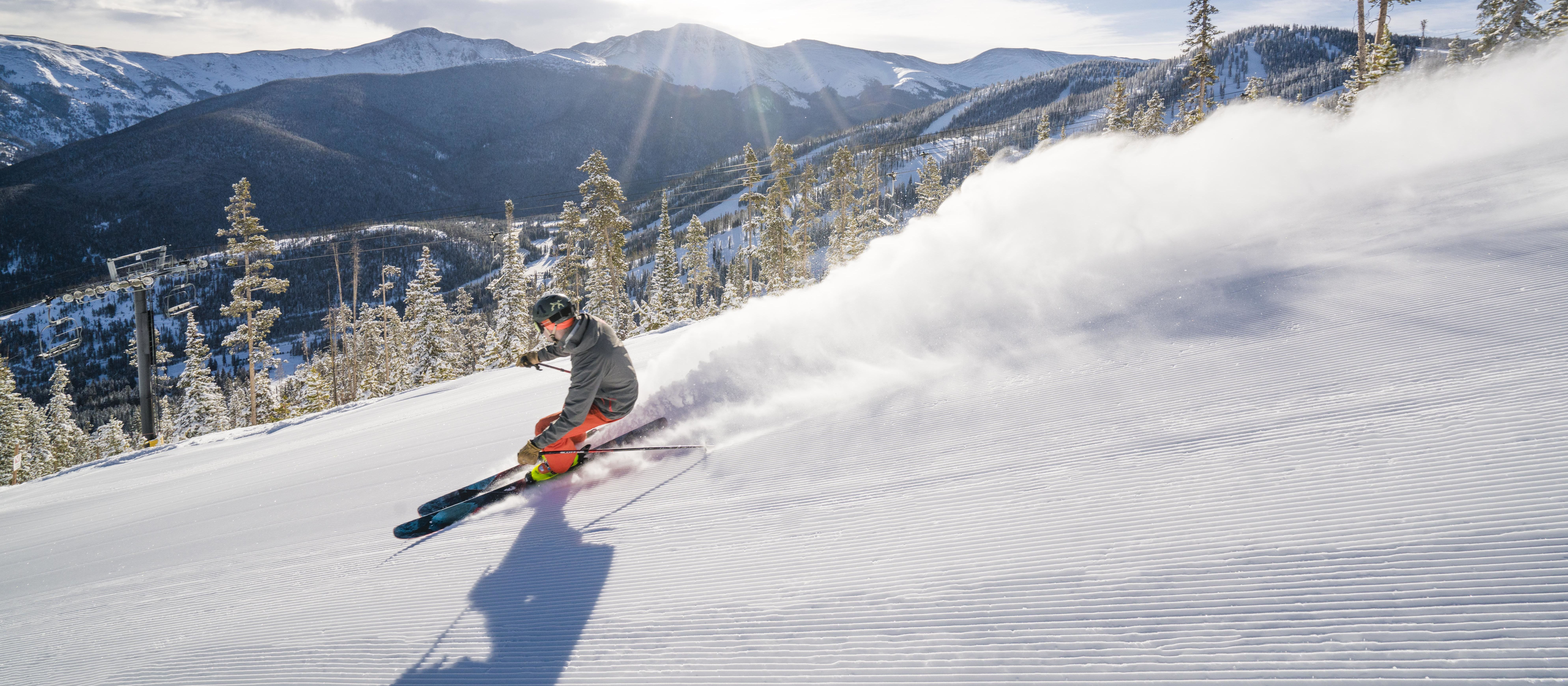 Skifahren im Winter Park Resort im US-Bundesstaat Colorado