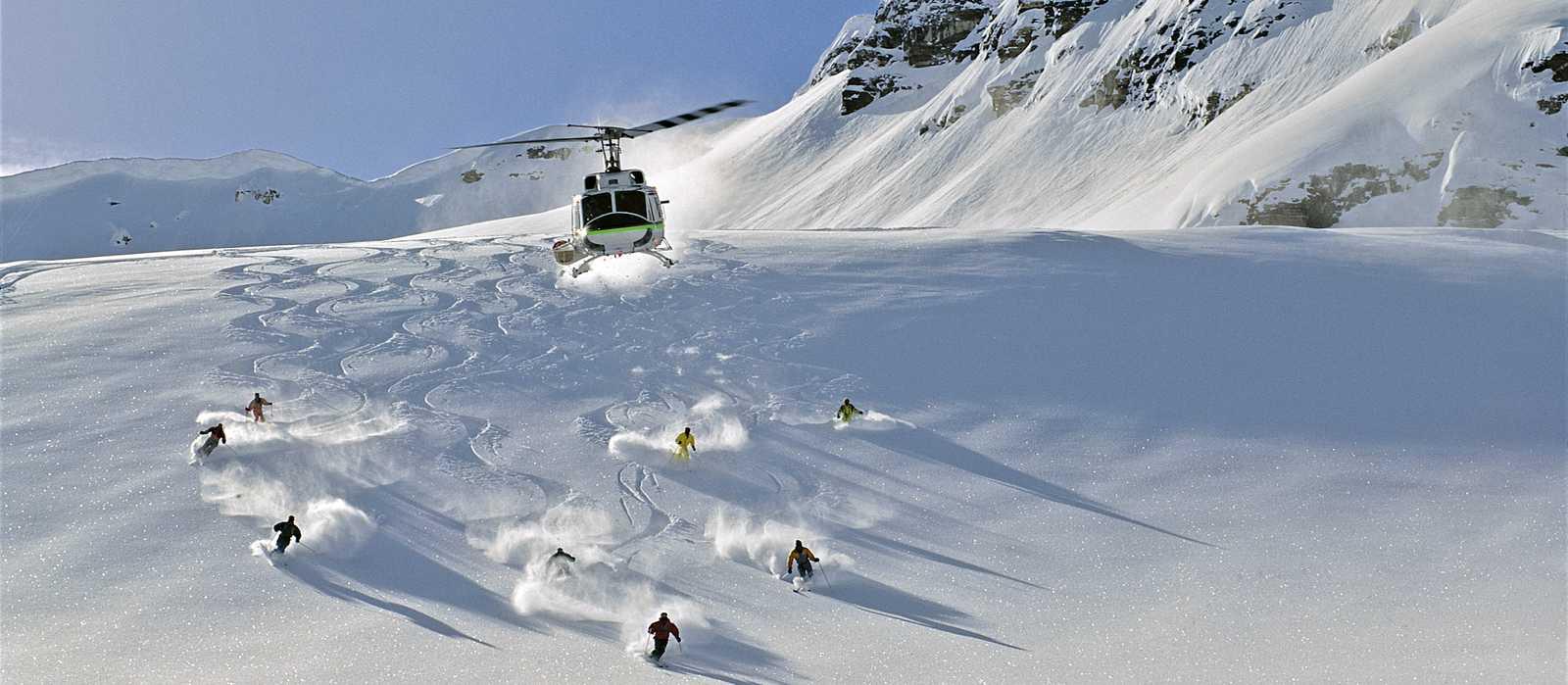 Impression Heli-Skiing