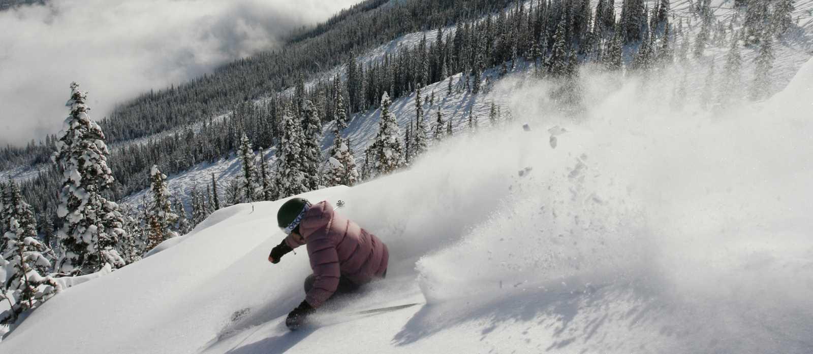 Skigebiet Kicking Horse