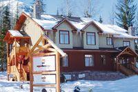 Lodge in Kicking Horse für 2