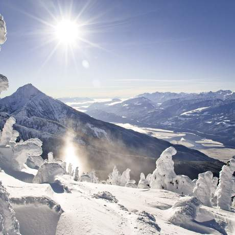 Landschaft des Revelstoke Mountain Resorts