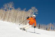 Skireisen USA: Skifahrerin in Utah