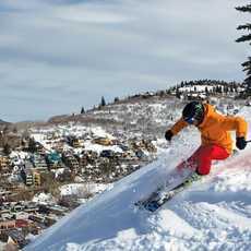 Downhill Skiing, Piste, Town, Vail Resort